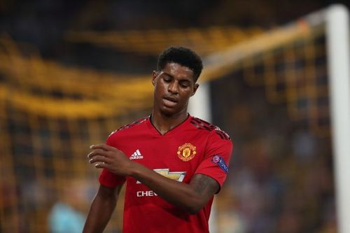 Marcus Rashford has struggled for game time at Manchester United