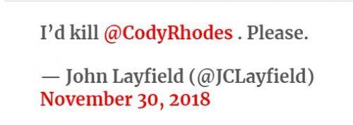 This tweet was deleted by JBL.