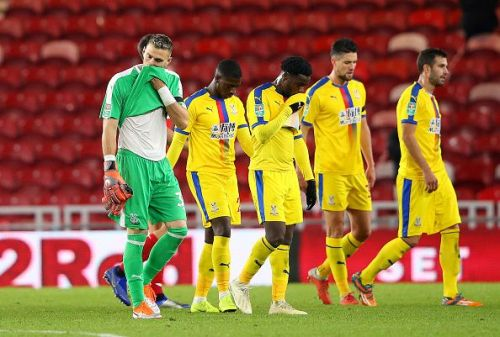 Middlesbrough v Crystal Palace - Carabao Cup Fourth Round
