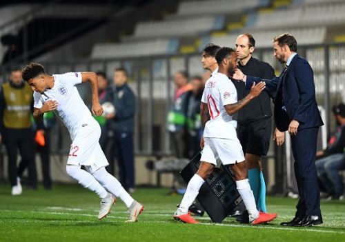 Gareth Southgate has become renowned for introducing younger talent like Jadon Sancho to the England set-up