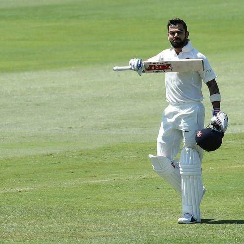 Under pressure, Kohli scored a magnificent 100