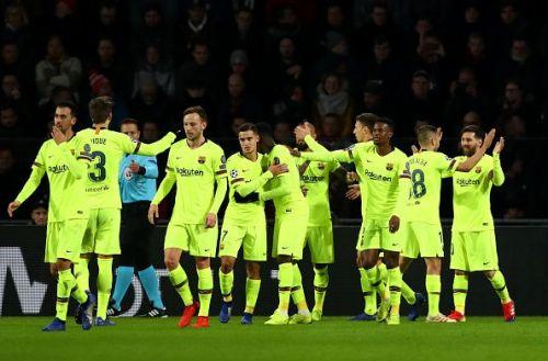PSV v FC Barcelona - UEFA Champions League Group B