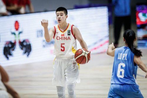 Yuan Li from China scored a double-double - 20 pts, 11 assists (Image Courtesy: FIBA)