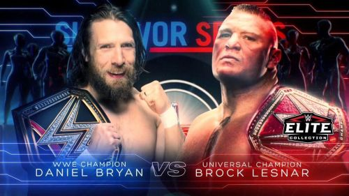 Daniel Bryan and Brock Lesnar are set to face each other at Survivor Series
