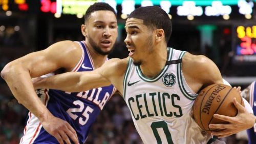 Jayson Tatum and Ben Simmons