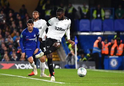 Fikayo Tomori scored an own goal for Chelsea in the League Cup match.