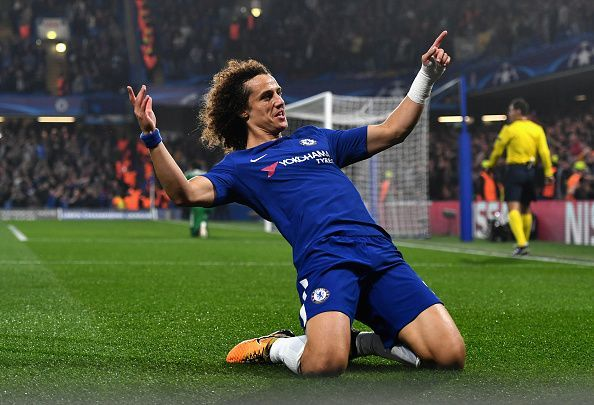David Luiz is one of the most well known goal-scoring defenders