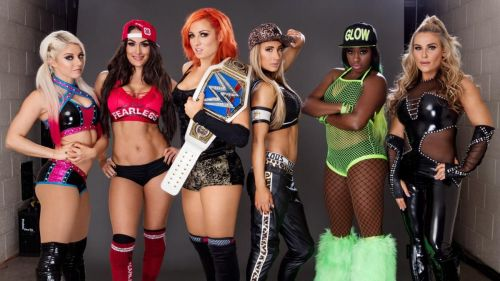 The SmackDown Women's team of 2016