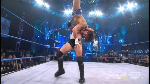 Only the most skilled wrestler can pull this move off perfectly
