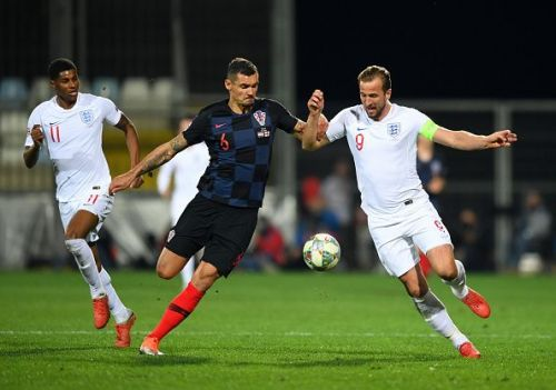 Dejan Lovren and Harry Kane are familiar foes and play against each other regularly in Premier League for Liverpool and Tottenham respectively