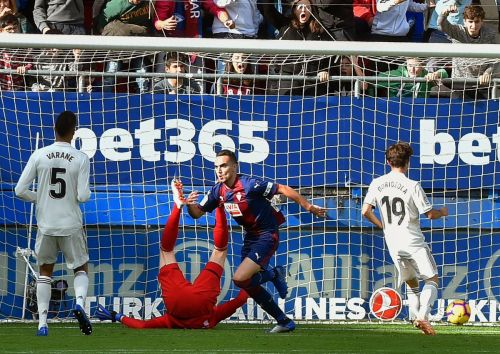 Real Madrid were battered 3-0 by Eibar on Saturday