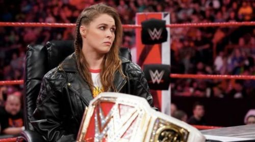 Ronda Rousey: UFC and WWE titles on her resume