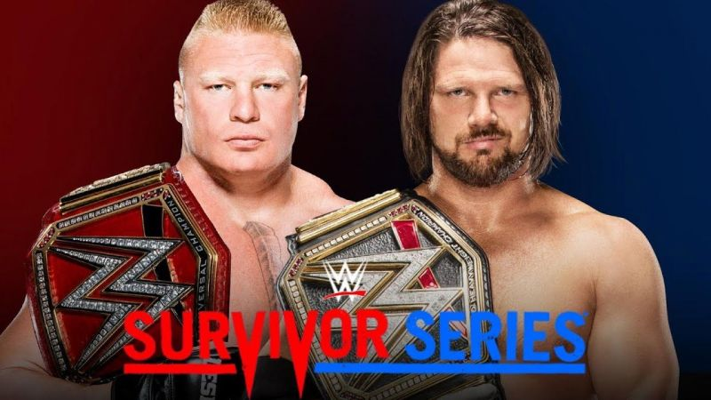 Will AJ Styles be the one to slay The Beast?