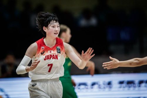 Ririka Okuyama of Japan (Image Courtesy: FIBA)