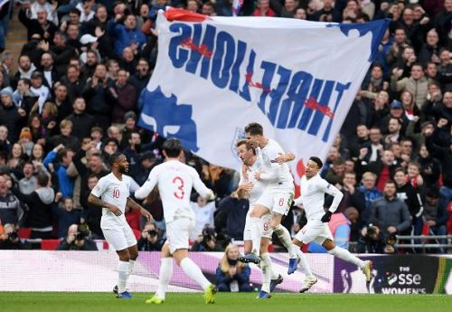 A festive Wembley was witness to England's pluck, grit and determination