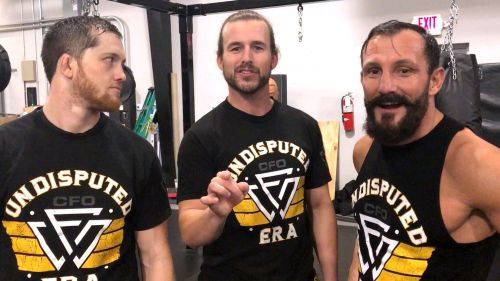 The Undisputed Era has been a big deal in NXT. Could the main roster run be