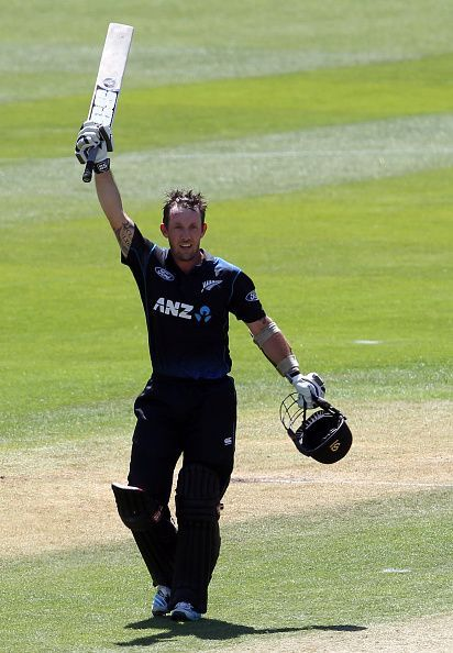 New Zealand's keeper Ronchi cemented his position in the World Cup team with this knock