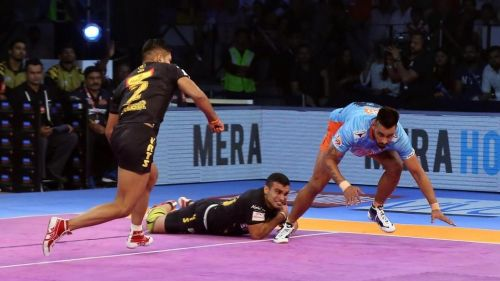 Will the iron defense of the Telugu Titans be able to stop the Bengal raiders?