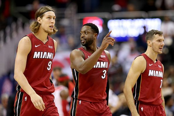 The Heat are among the teams in danger of missing out on the postseason