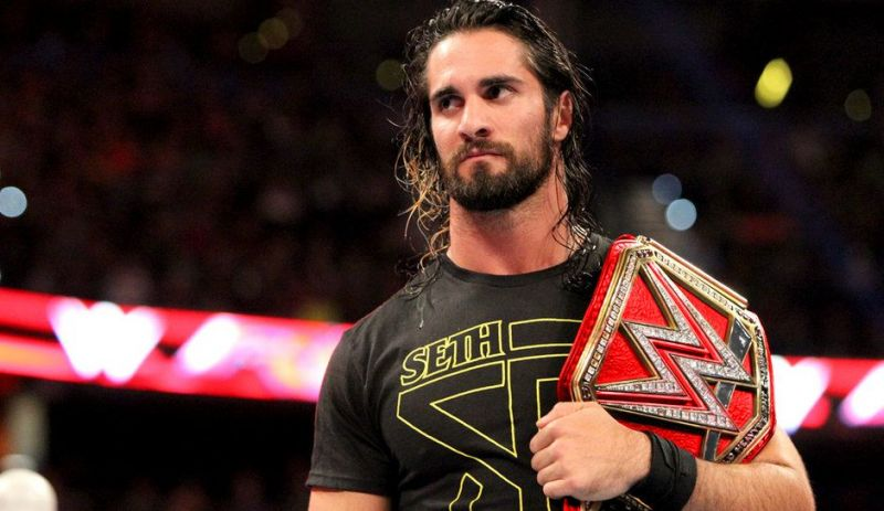Image result for seth rollins universal championship