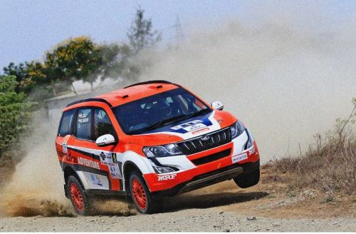 Gaurav Gill in action - Coffee Day Rally