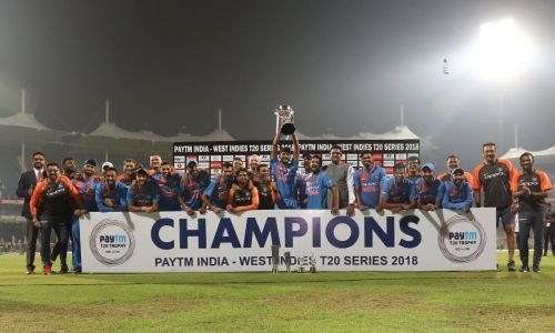 Champion's team India