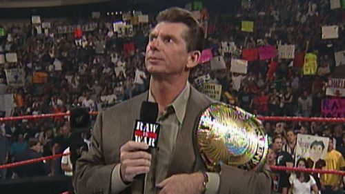 Image result for Vince McMahon wwe champion