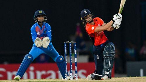 England v India. CREDIT: Twitter @WorldT20