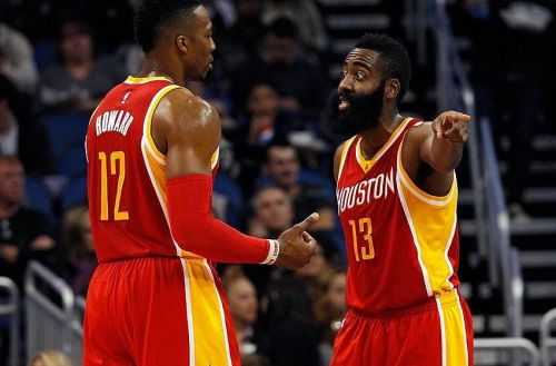 Dwight Howard and James Harden didn't get along in Houston