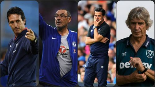Four Premier League clubs had announced managerial changes at the beginning of the season