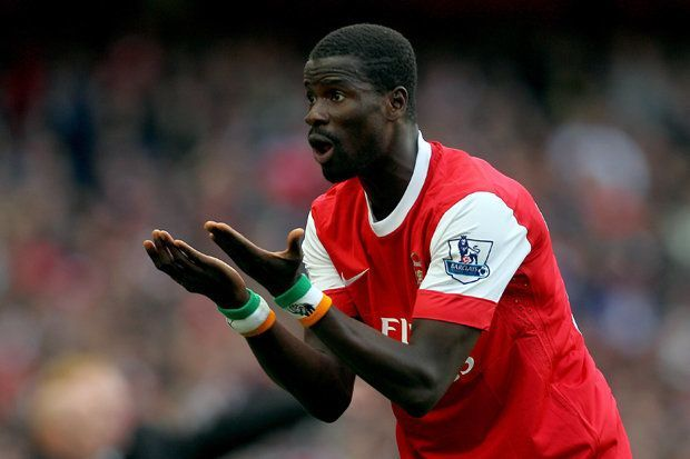 Emmanuel Eboue has gone from 'riches-to-rag'