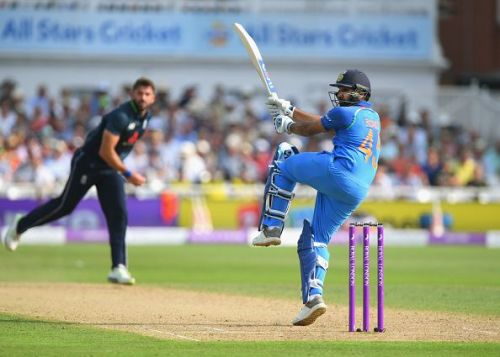 Rohit Sharma has a strong back foot game