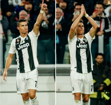 c0128e283 Cristiano Ronaldo was on the scoresheet when Juventus played Manchester  United on Wednesday