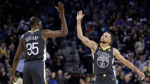 Curry and Durant have been unstoppable so far
