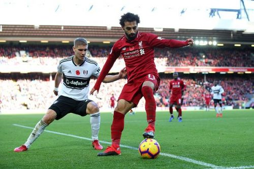Mohamed Salah guided Liverpool to victory against Fulham
