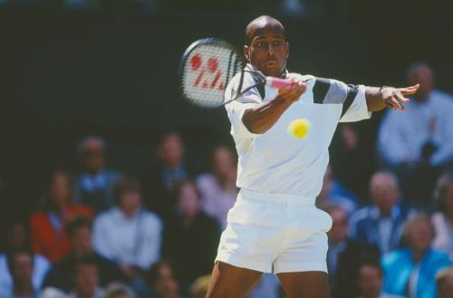 MaliVai Washington at the Wimbledon Lawn Tennis Championship