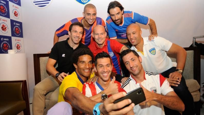 Marquee players from the inaugural season of the Indian Super League (Photo: ISL)