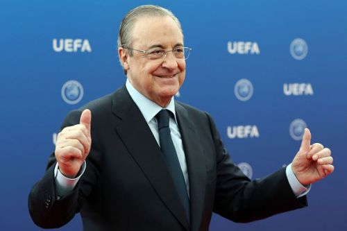 Real Madrid president, Florentino Perez is reportedly set to make a massive swoop!