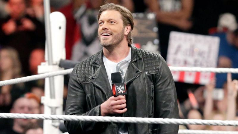 Edge is certainly looking forward to Wednesday nights