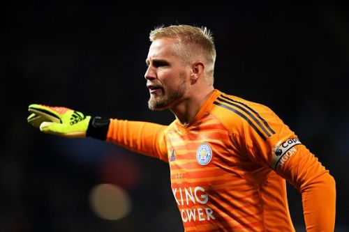 Leicester City's Kasper Peter Schmeichel