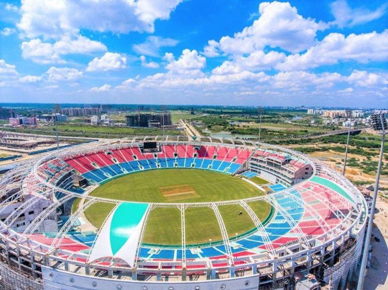 Ekana Cricket Stadium, Lucknow