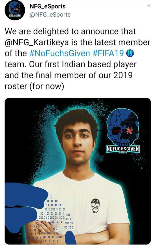 Kartikeya Behl joined Christian Fuchs