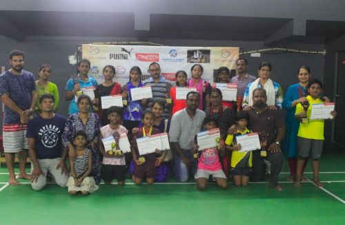 Event Winners of the tournament