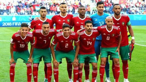 Morocco at the 2018 FIFA World Cup in Russia