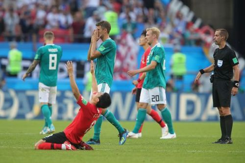 Germany suffered a humbling loss to South Korea in the World Cup