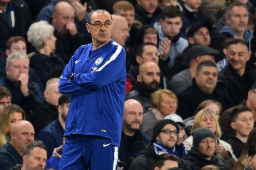 Sarri has enjoyed a flawless start to life in England
