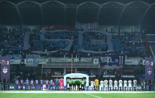 The West Block Blues' tribute to Sunil Chhetri on his 150th match for Bengaluru FC