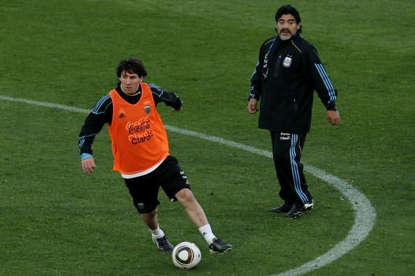 Argentina Training - 2010 FIFA World Cup