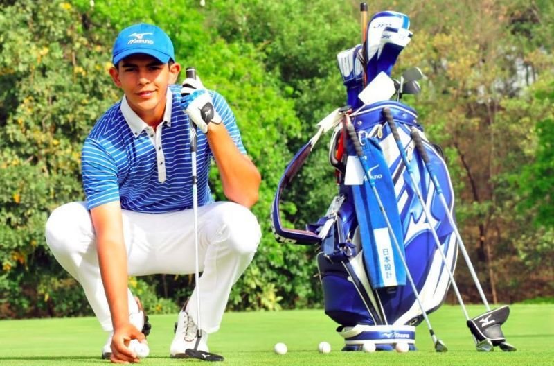 Aadil Bedi turned professional in the Panasonic Open