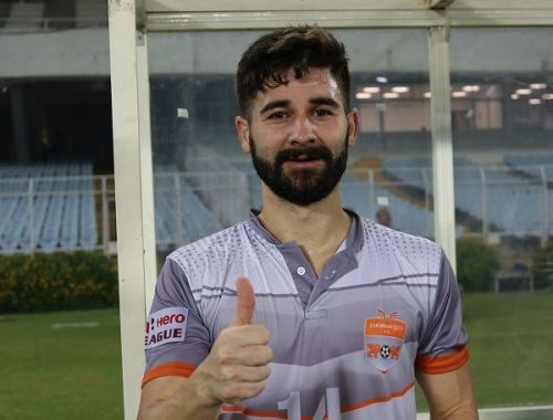 Nestor Gordillo converted from the spot against East Bengal to seal the three points for Chennai City FC (Image: AIFF Media)